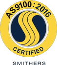 AS9100:2016 certified smithers